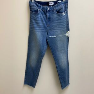 William Rast high-rise ankle jeans size 31